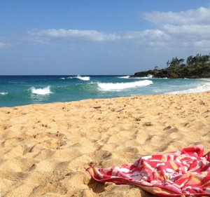 Donkey's Beach, Kauai, on Easter Sunday